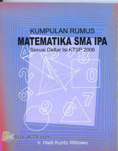 Cover Buku Buku Saku Kumpulan Rumus Matematika SMA IPA (Sesuai Daftar Isi KTSP 2006)