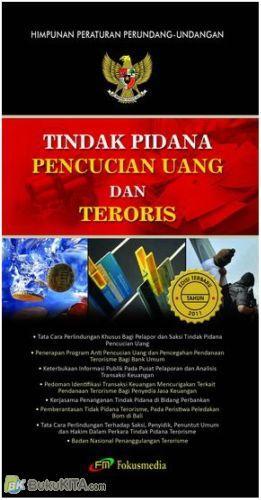 Cover Buku Tindak Pidana Pencucian Uang dan Teroris edisi tahun 2011