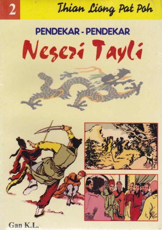 Cover Buku Pendekar-Pendekar Negeri Tayli #2