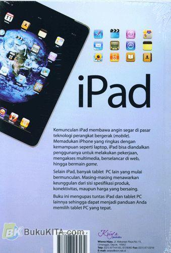 Cover Belakang Buku iPad