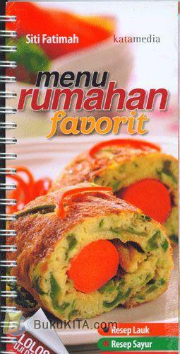 Cover Buku Menu Rumahan Favorit