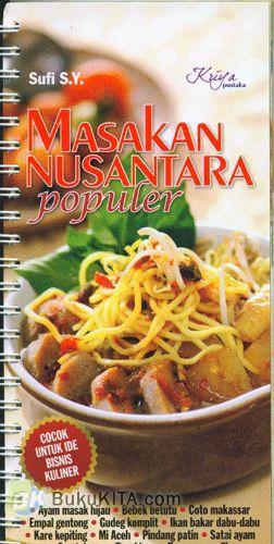 Cover Buku Masakan Nusantara Populer