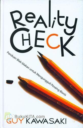 Cover Buku Reality Check : Panduan Blak-blakan untuk Mengungguli Pesaing Bisnis