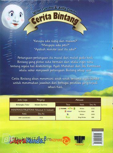 Cover Belakang Buku Cerita Bintang
