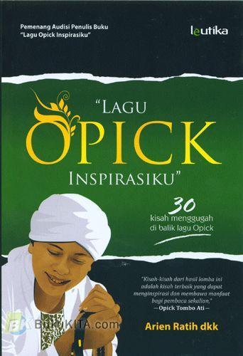 Cover Buku Lagu OPICK Inspirasiku