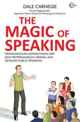 Cover Buku The Magic Of Speaking