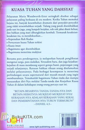 Cover Belakang Buku Tanda-Tanda dan Keajaiban Kuasa Tuhan (Signs and Wonders)