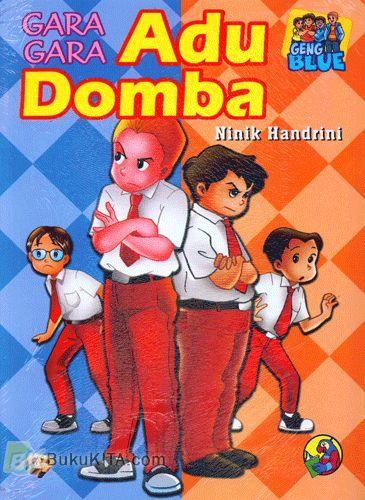 Cover Buku Geng Blue : Gara-Gara Adu Domba