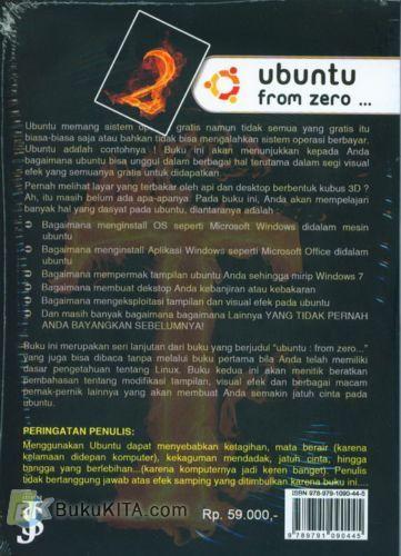 Cover Belakang Buku Ubuntu From Zero #2