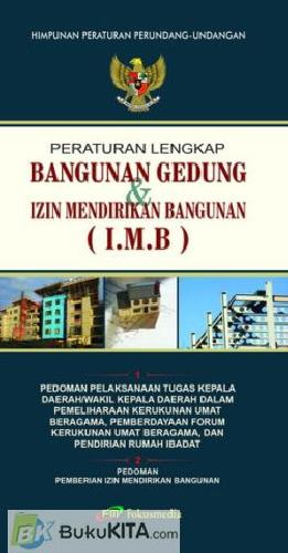 Cover Buku Bangunan Gedung dan Izin Mendirikan Bangunan (IMB)