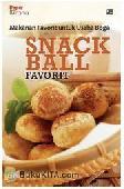 Makanan Favorit untuk Usaha Boga : Snack Ball Favorit
