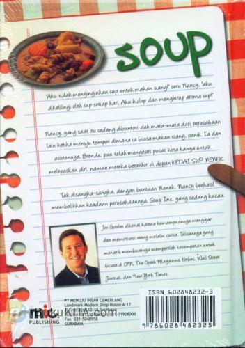 Cover Belakang Buku SOUP : Sebuah Resep Untuk Mengembangkan Tim Anda