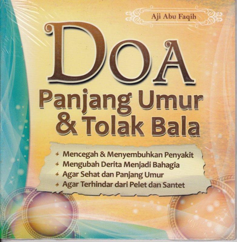 Cover Buku Doa Panjang Umur & Tolak Bala (Disc 50%)