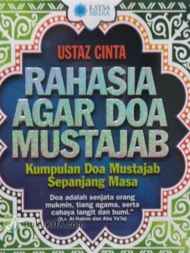 Cover Buku Rahasia Agar Doa Mustajab