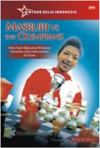 Cover Buku MASRURI VS THE OLYMPIANS