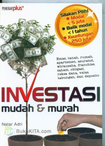 Cover Buku Investasi Mudah & Murah