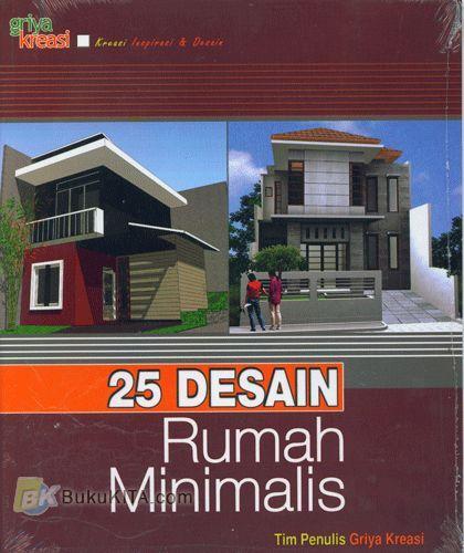 Cover Buku 25 Desain Rumah Minimalis