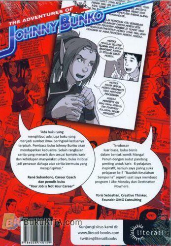 Cover Belakang Buku The Adventures of Johnny Bunko : Komik Panduan Melejitkan Karier