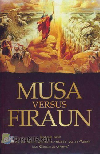 Cover Buku Musa Versus Firaun