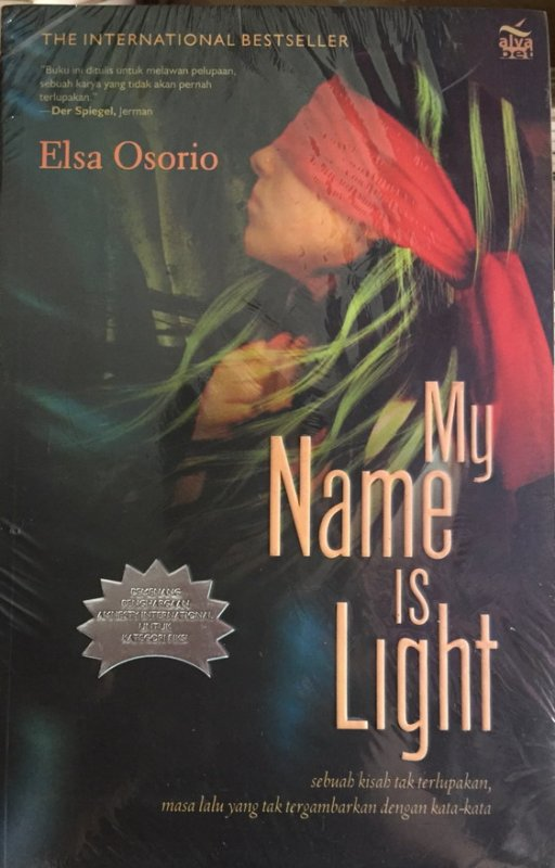 Cover Buku My Name is Light