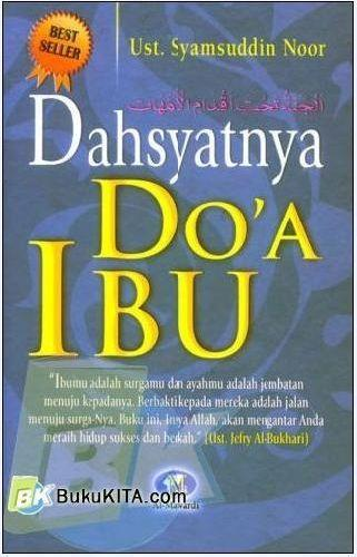 Cover Buku Dahsyatnya Doa Ibu (Soft Cover)