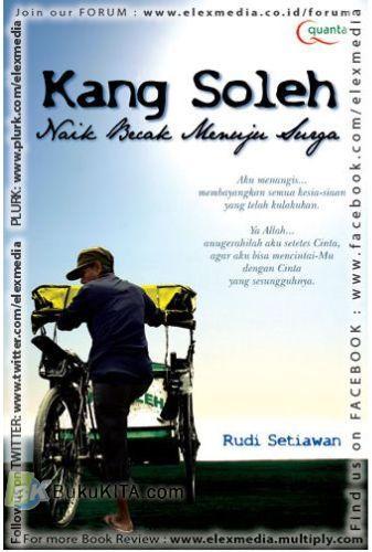 Cover Buku Kang Soleh Naik Becak Menuju Surga