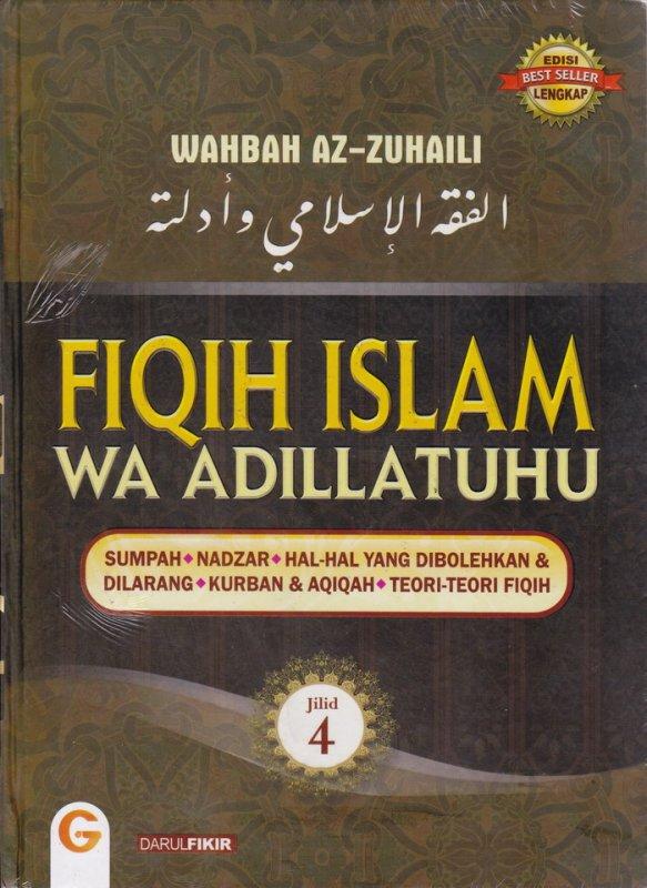 Cover Buku FIQIH ISLAM (WA ADILLATUHU) #4