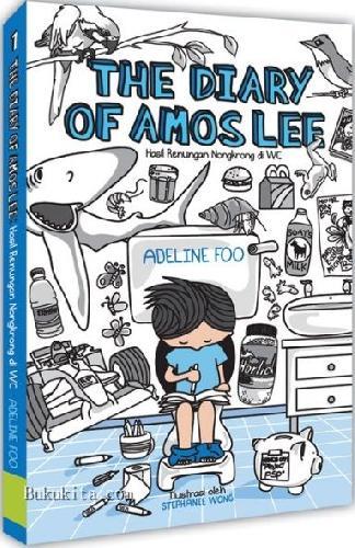 Cover Buku The Diary of Amos Lee - Hasil Renungan Nongrong di WC