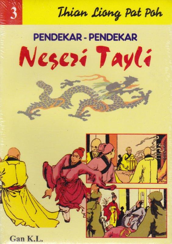 Cover Buku Pendekar-Pendekar Negeri Tayli #3
