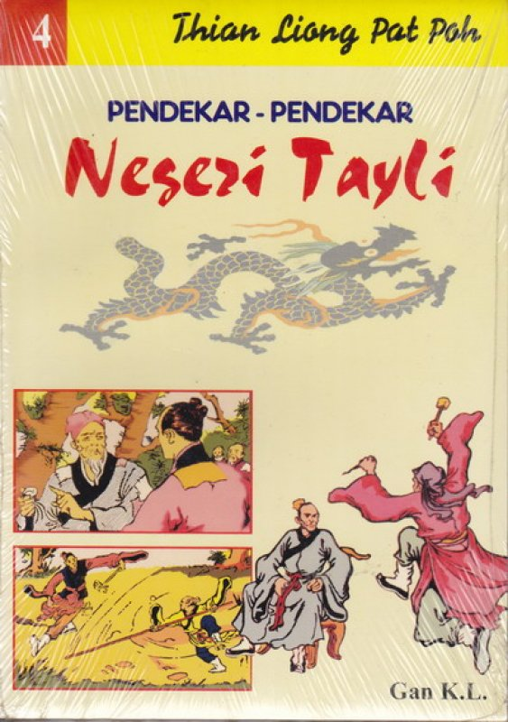 Cover Buku Pendekar-Pendekar Negeri Tayli #4