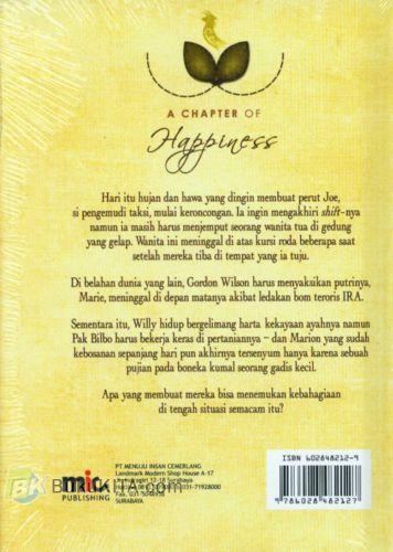Cover Belakang Buku A Chapter of Happiness