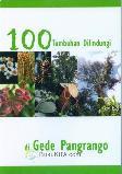 Seratus Tumbuhan Dilindungi di Gede Pangrango (Disc 50%)