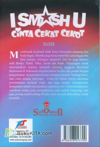 Cover Belakang Buku I Smash U : Cinta Cekat Cekot