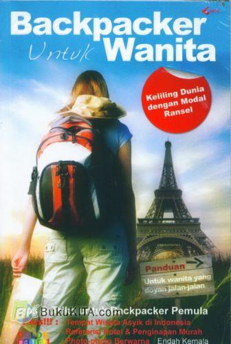Cover Buku Backpacker Untuk Wanita