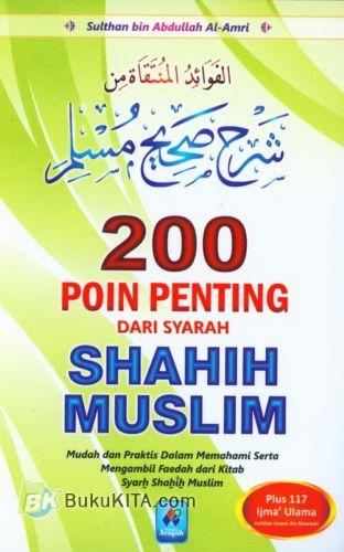Cover Buku 200 Poin Penting Dari Syarah Shahih Muslim