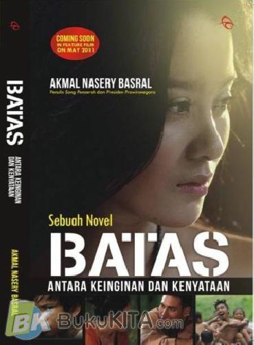 Cover Buku Batas : Antara Kenyataan dan Harapan