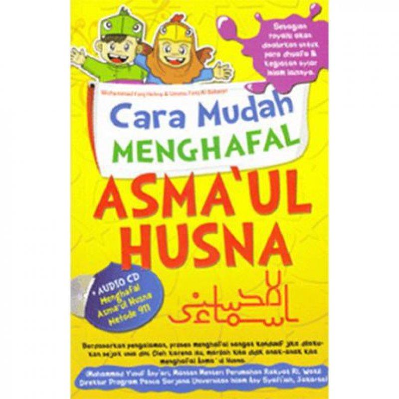 Cover Belakang Buku Cara Mudah Menghafal Asmaul Husna (Disc 50%)