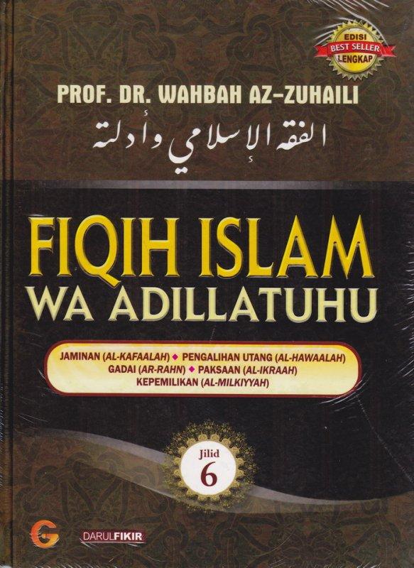 Cover Buku FIQIH ISLAM (WA ADILLATUHU) #6