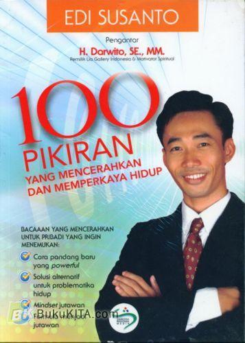 Cover Buku 100 Pikiran yang Mencerahkan dan Memperkaya Hidup