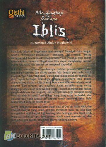 Cover Belakang Buku Mengungkap Rahasia Iblis