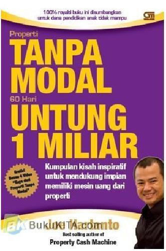 Cover Buku Properti Tanpa Modal : 60 Hari Untung 1 Milyar
