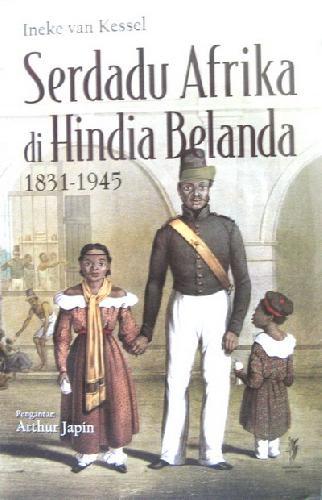 Cover Buku Serdadu Afrika di Hindia Belanda 1831-1945