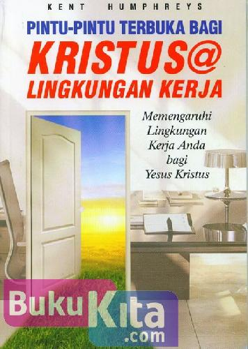 Cover Buku Pintu-Pintu Terbuka Bagi Kristus @ Lingkungan Kerja