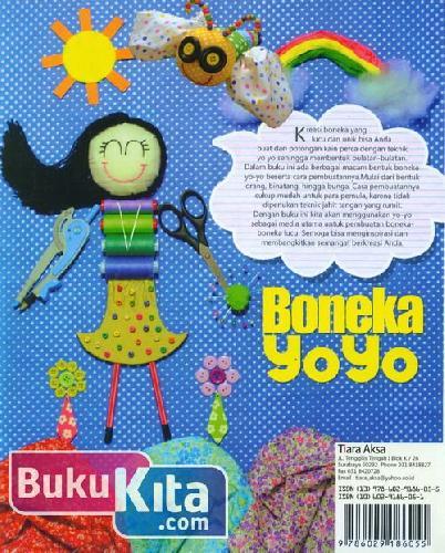 Cover Belakang Buku Kreasi Boneka Yoyo : Ragam Boneka Unik dari Kain Perca