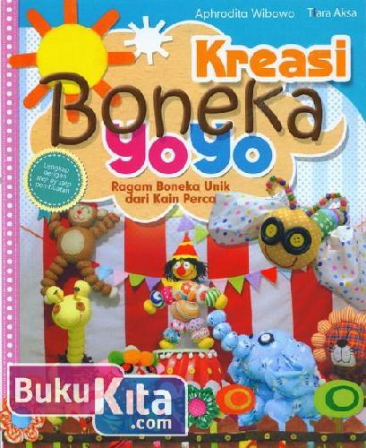 Cover Buku Kreasi Boneka Yoyo : Ragam Boneka Unik dari Kain Perca