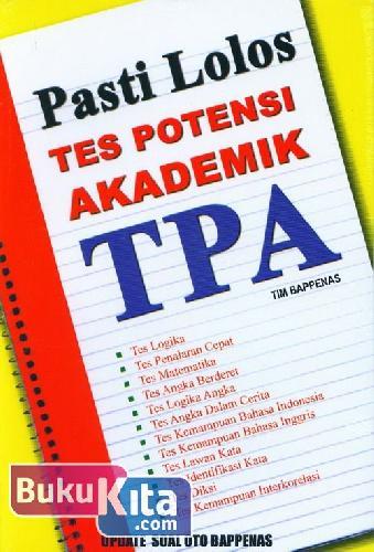 Cover Buku Pasti Lolos Tes Potensi Akademik TPA