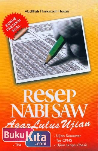 Cover Buku Resep Nabi Saw Agar Lulus Ujian