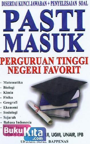 Cover Buku Pasti Masuk Perguruan Tinggi Negeri Favorit