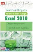 Referensi Ringkas Formula & Fungsi Excel 2010