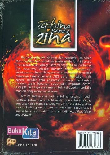 Cover Belakang Buku Terhina Karena Zina